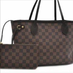 Authentic Louis Vuitton Neverfull PM Bag